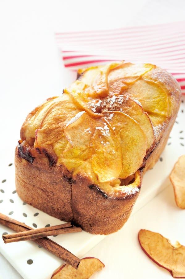 Apple Cinnamon Bread royalty free stock photo