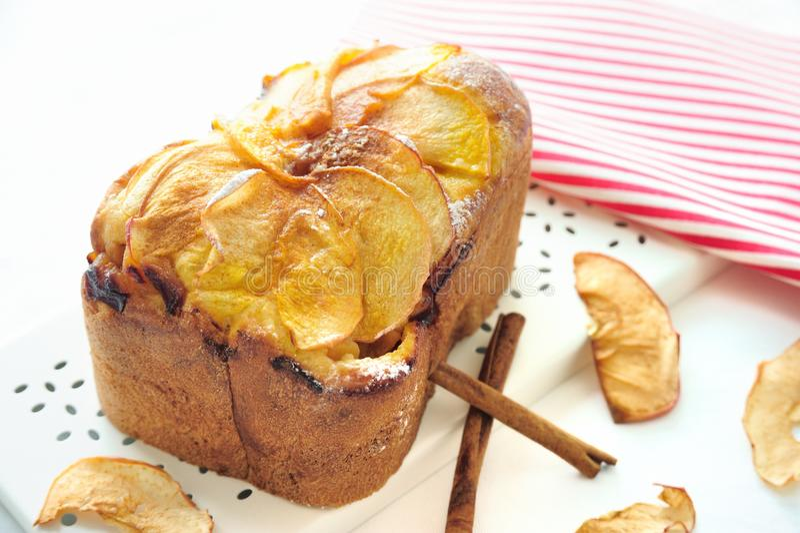 Apple Cinnamon Bread royalty free stock image