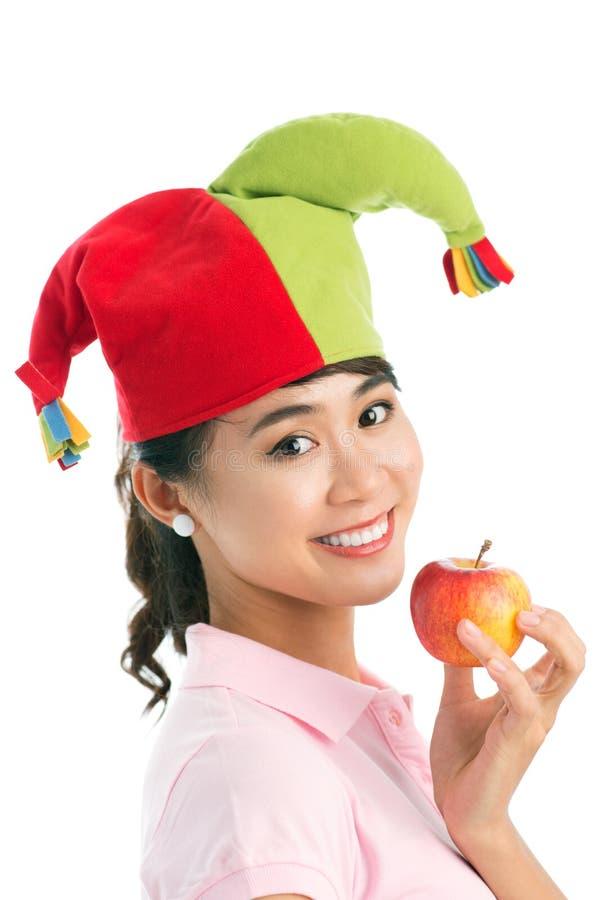 Apple Clown Stock Image