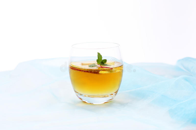 Apple cocktail royalty free stock photos