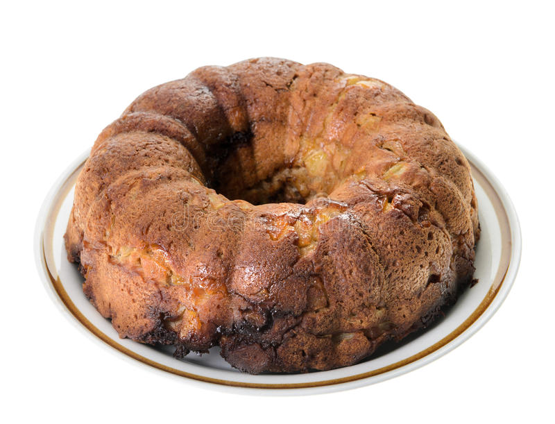 Download Apple Coffee Cake stock image. Image of golden, isolated - 27685695