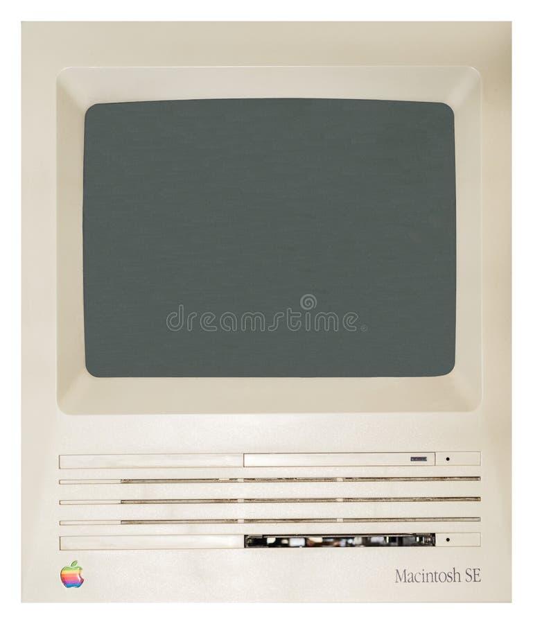 Apple Computer iniziale fotografie stock libere da diritti