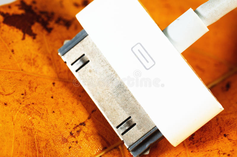 Apple connector royalty free stock images
