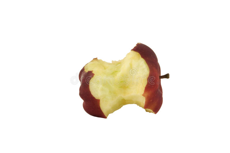 Download Apple core stock image. Image of eating, life, isolated - 21158827