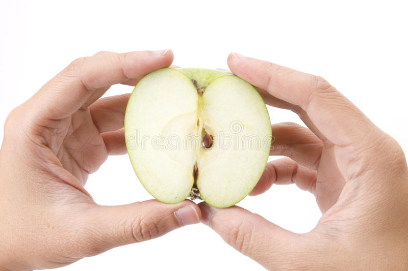 Download Apple core stock photo. Image of green, dieting, closeup - 22049376