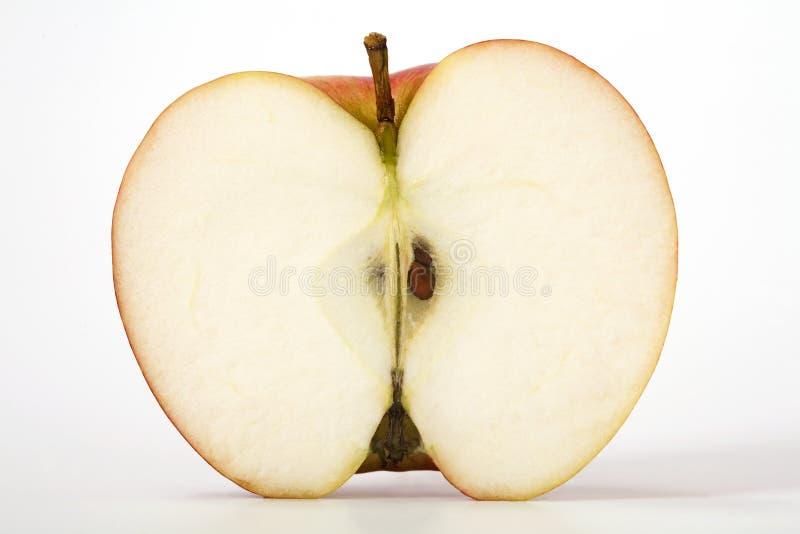 Apple cortó adentro a medias fotos de archivo