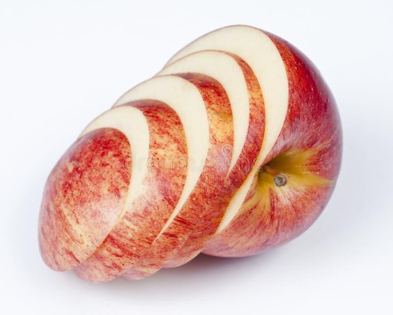 Apple cortado foto de stock