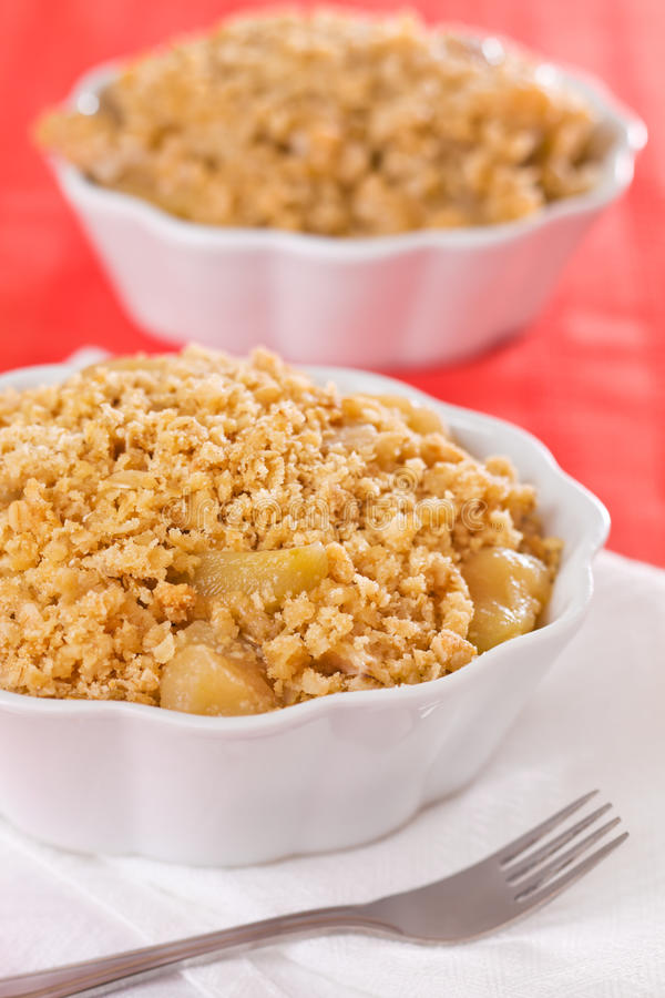 Free Apple Crumble Stock Photography - 19383042