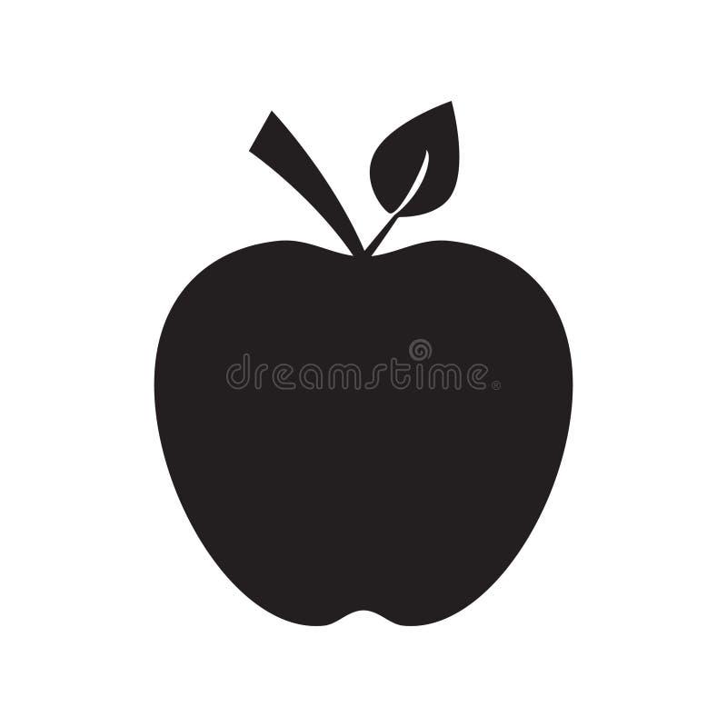 Apple da fruto icono del vector ilustración del vector