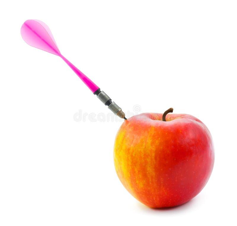 Apple and darts arrow