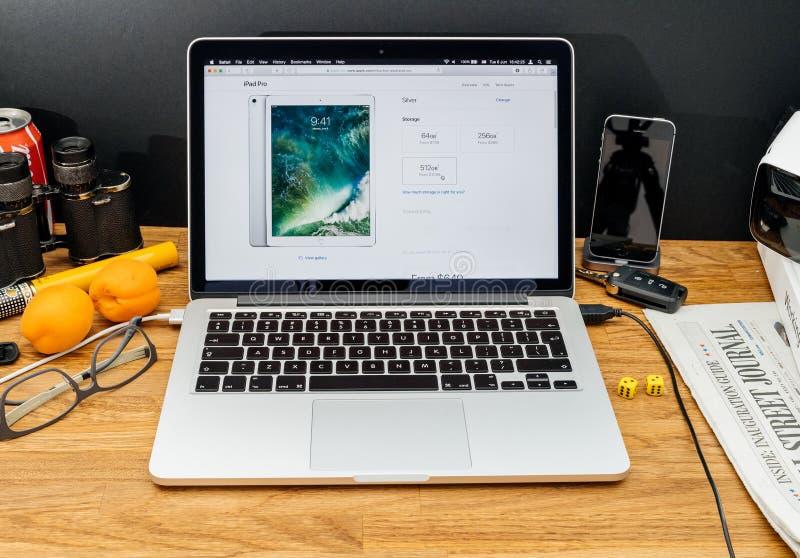 Apple-datorer på senast meddelanden för WWDC av lagringsprisiP fotografering för bildbyråer