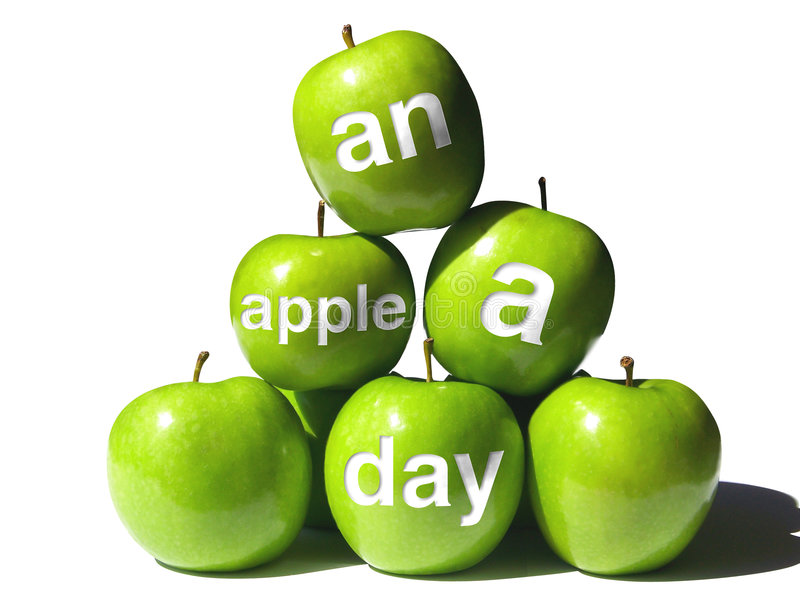 Download Apple a Day Pyramid stock photo. Image of skin, produce - 6788718