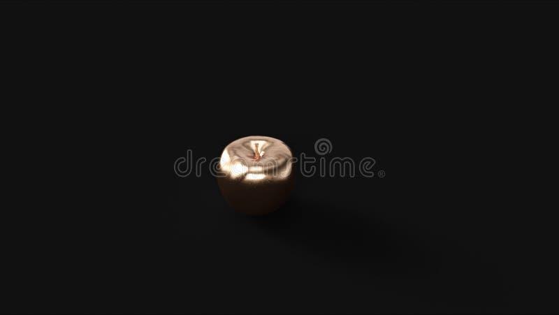 Apple de bronze 3 ilustração royalty free
