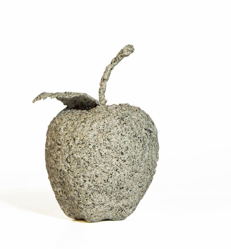 Apple de pierre photographie stock libre de droits