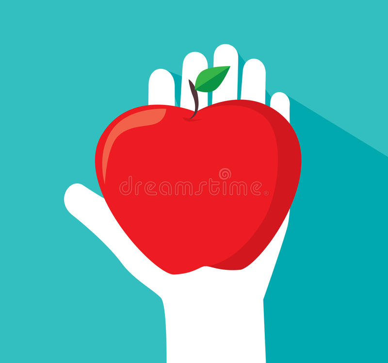 Apple design vector illustration