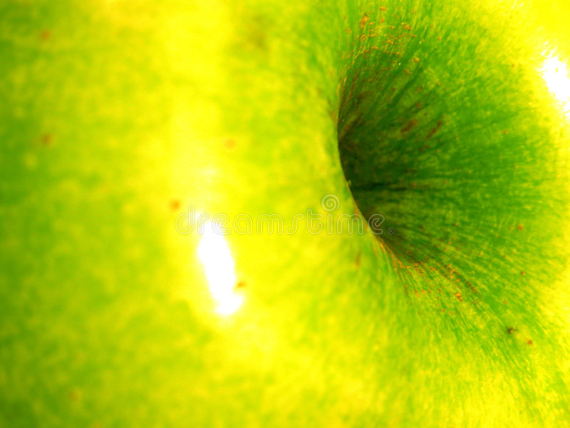 Apple detail royalty free stock images