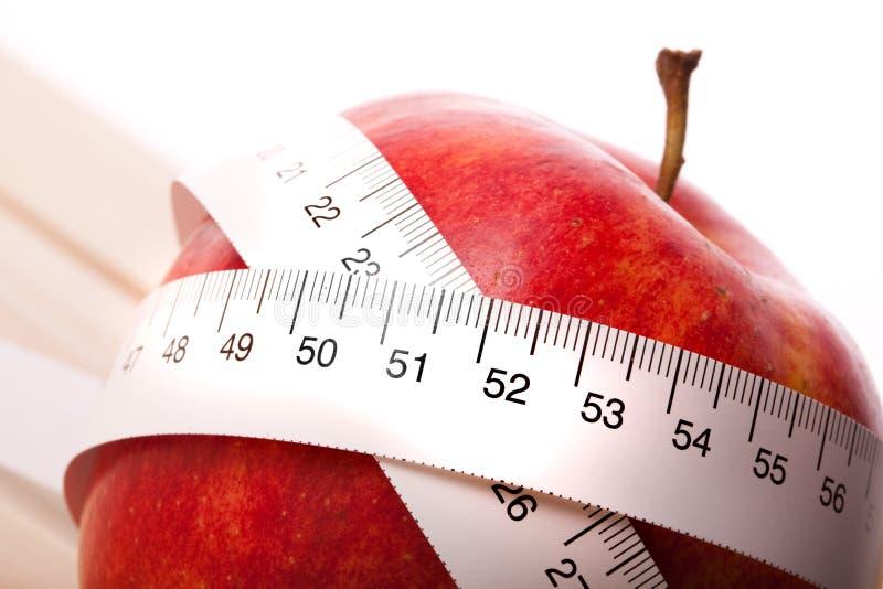 Apple-Diät! stockfoto