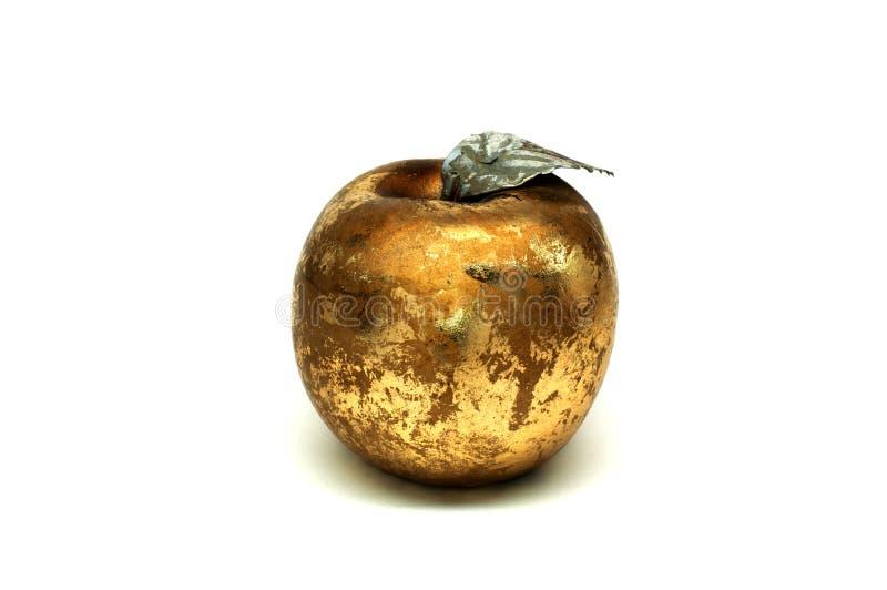Apple dourado fotos de stock royalty free
