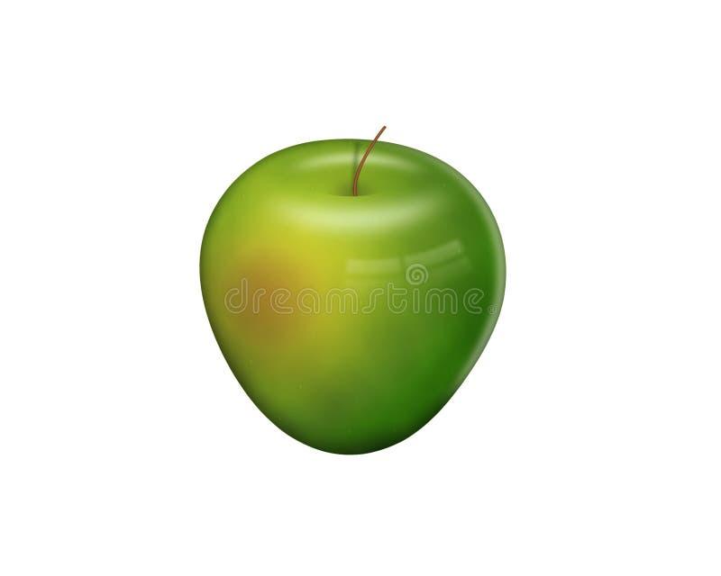Apple dourado imagens de stock royalty free