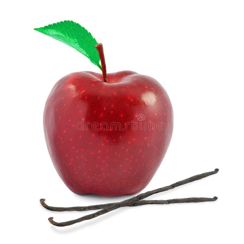 Apple e baunilha fotografia de stock royalty free
