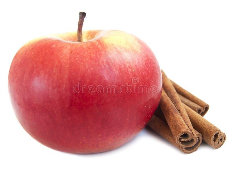 Apple e cannella immagini stock libere da diritti