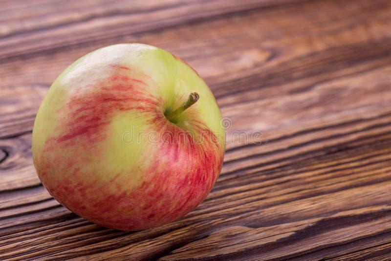 Apple Een fruitrijken in vitaminen en ijzer stock foto
