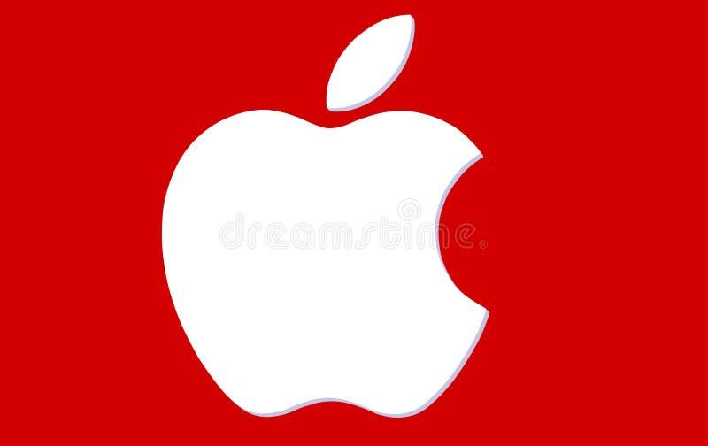Apple-embleem vector illustratie