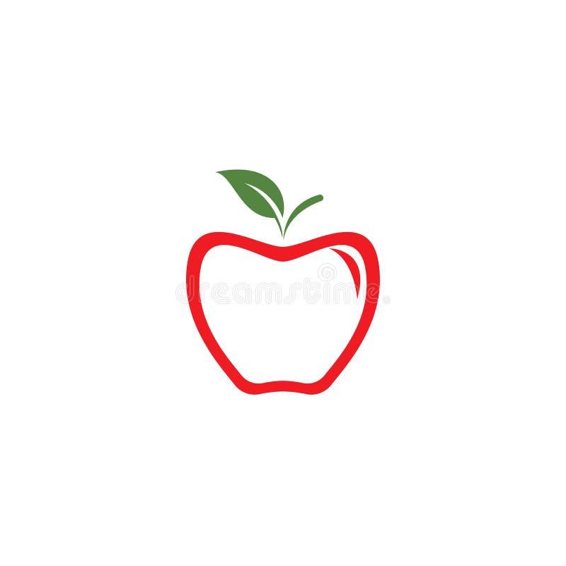 Apple-embleemvector royalty-vrije illustratie