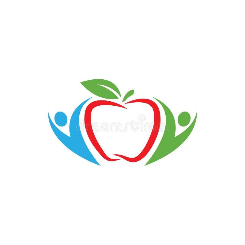 Apple-embleemvector vector illustratie