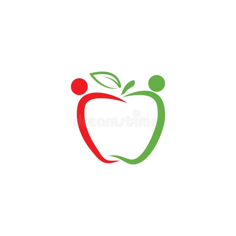 Apple-embleemvector stock illustratie