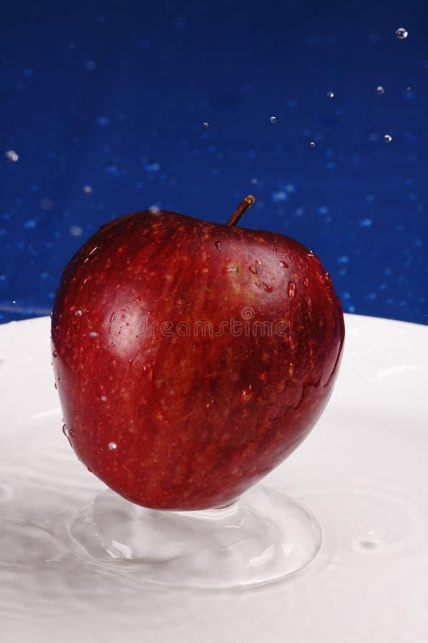 Apple espirra fotos de stock