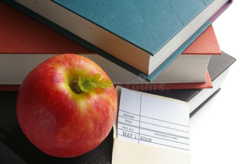 Apple für den Lehrer lizenzfreie stockfotografie