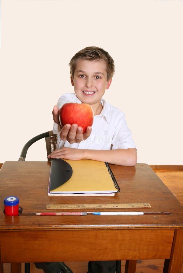 Apple für Lehrer lizenzfreies stockfoto