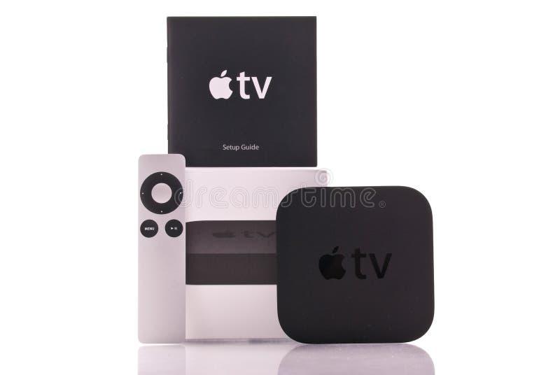 Apple Fernsehapparat stockfoto