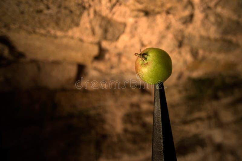 Apple a ficelé images stock