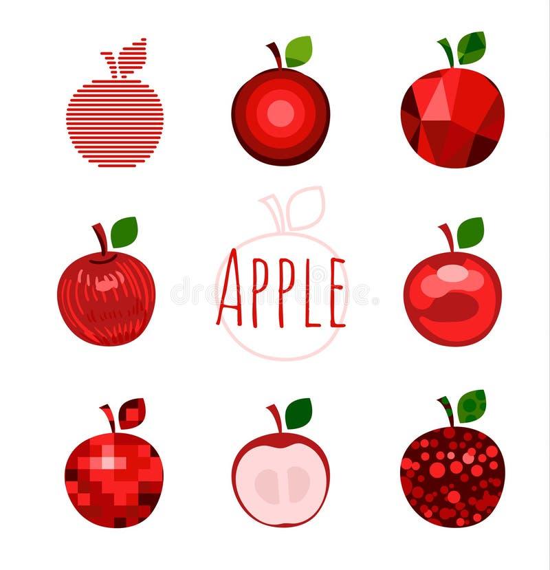 Apple firma ilustración del vector