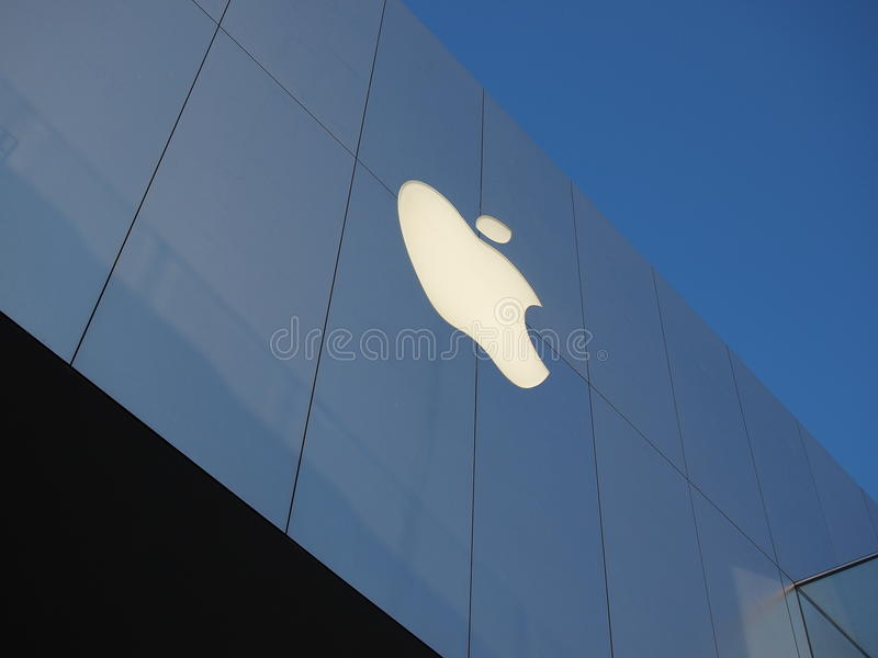 Download Apple flagship store editorial stock photo. Image of china - 23720468