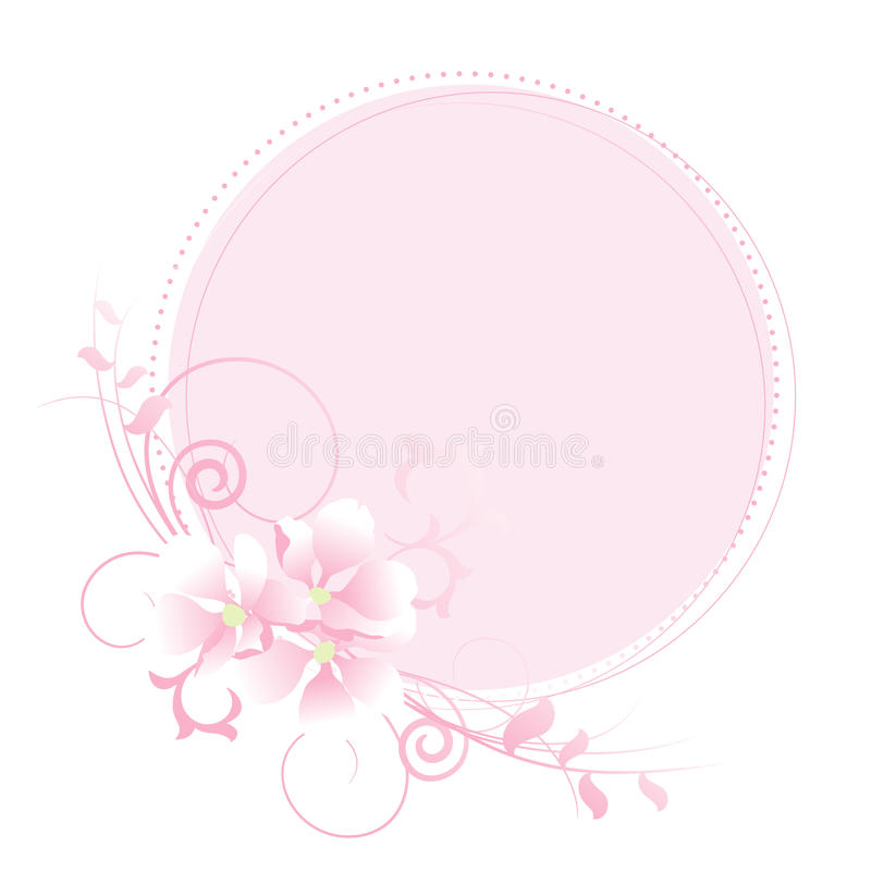 Download Apple Flowers Pastel Frame. Stock Vector - Image: 19562409