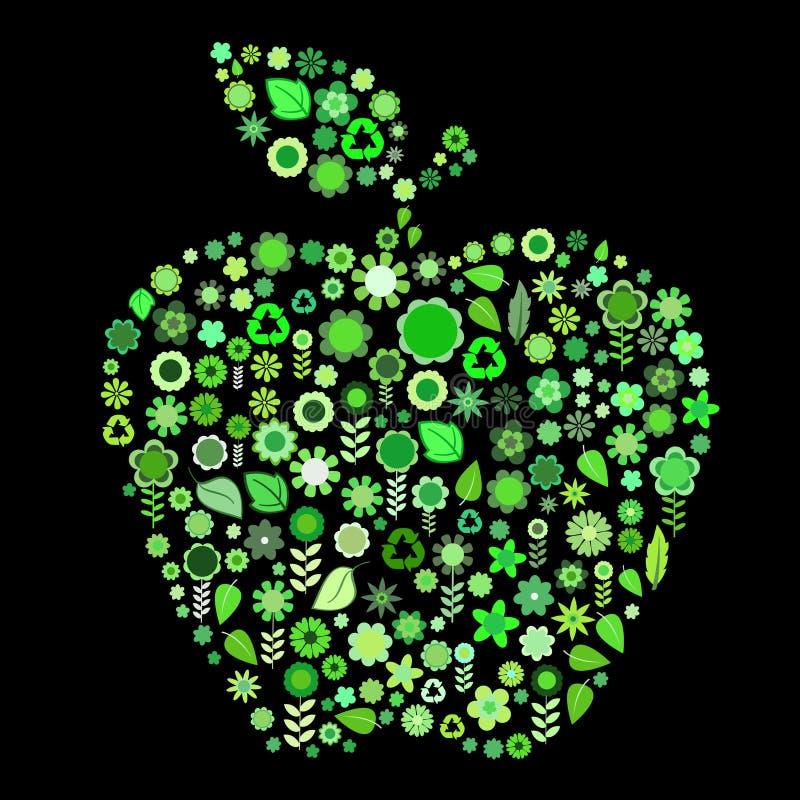Apple-Form lizenzfreie abbildung