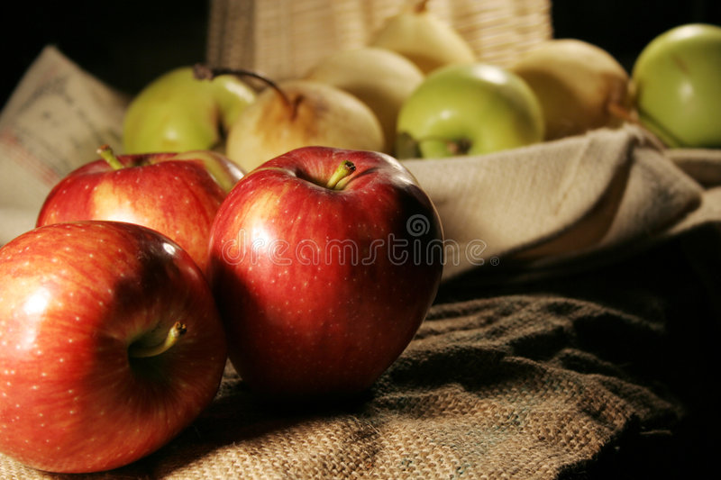 Apple fruit stock photo