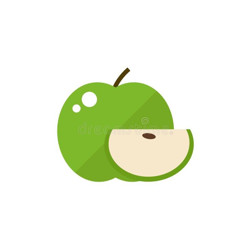 Apple fruit icon. royalty free illustration