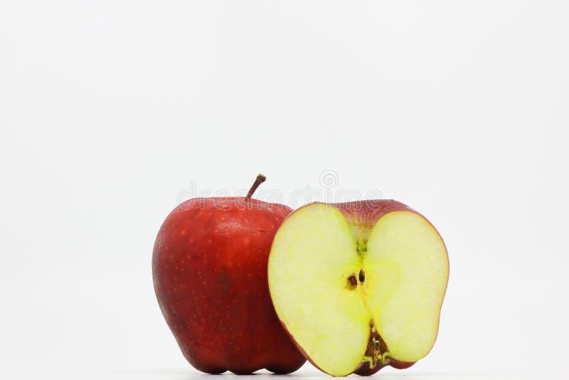 Apple fruttifica isolato fotografia stock