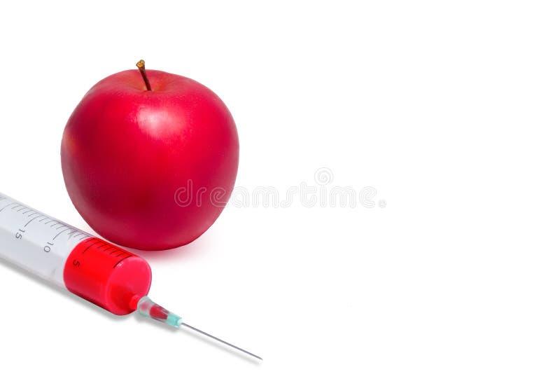 Apple Genetically alterado foto de stock royalty free