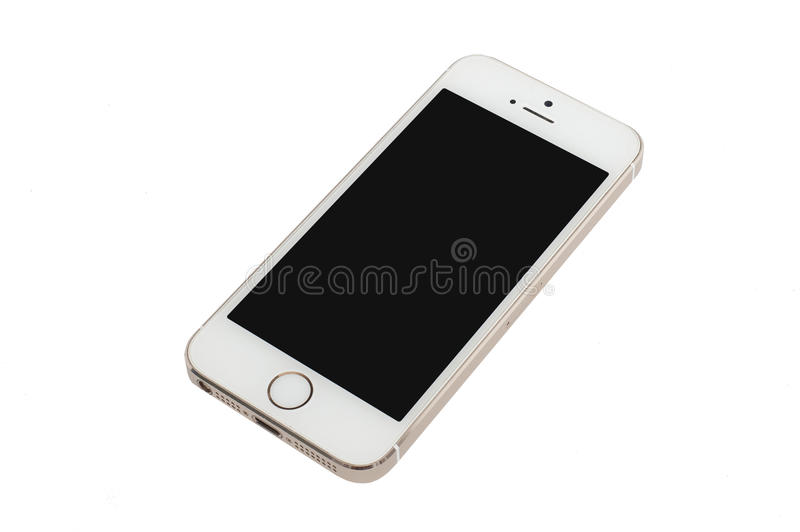 Apple Gold iPhone 5S royalty free stock images