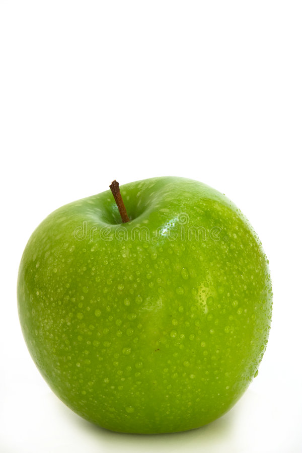 Apple - granny smith stock photos