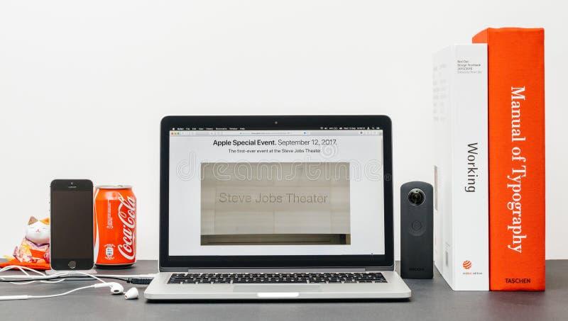 Apple grundtanke med royaltyfri foto