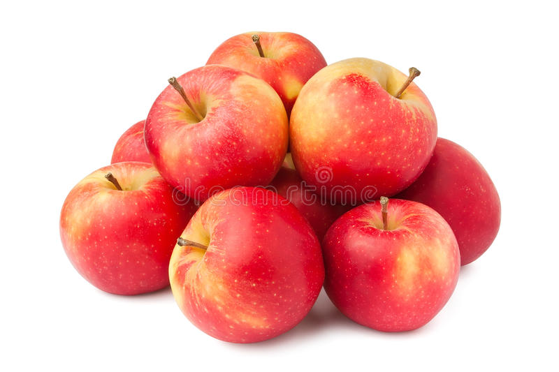 Download Apple heap stock photo. Image of shadow, many, vibrant - 22000378