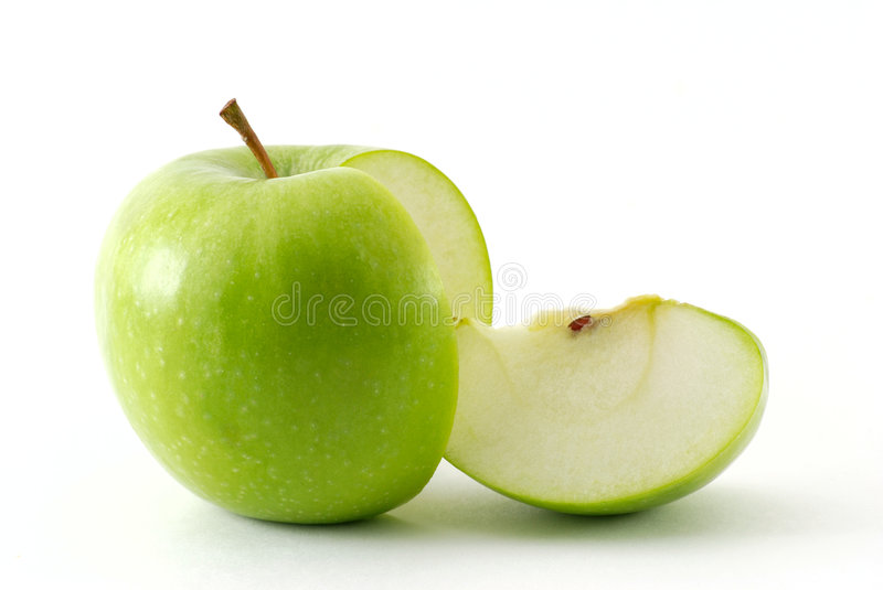 Download Apple and his slice stock photo. Image of health, object - 7372268