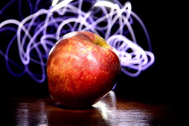 Apple i światło zdjęcie royalty free