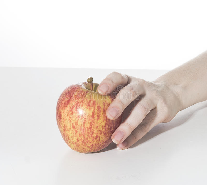 Apple i ciastko fotografia royalty free